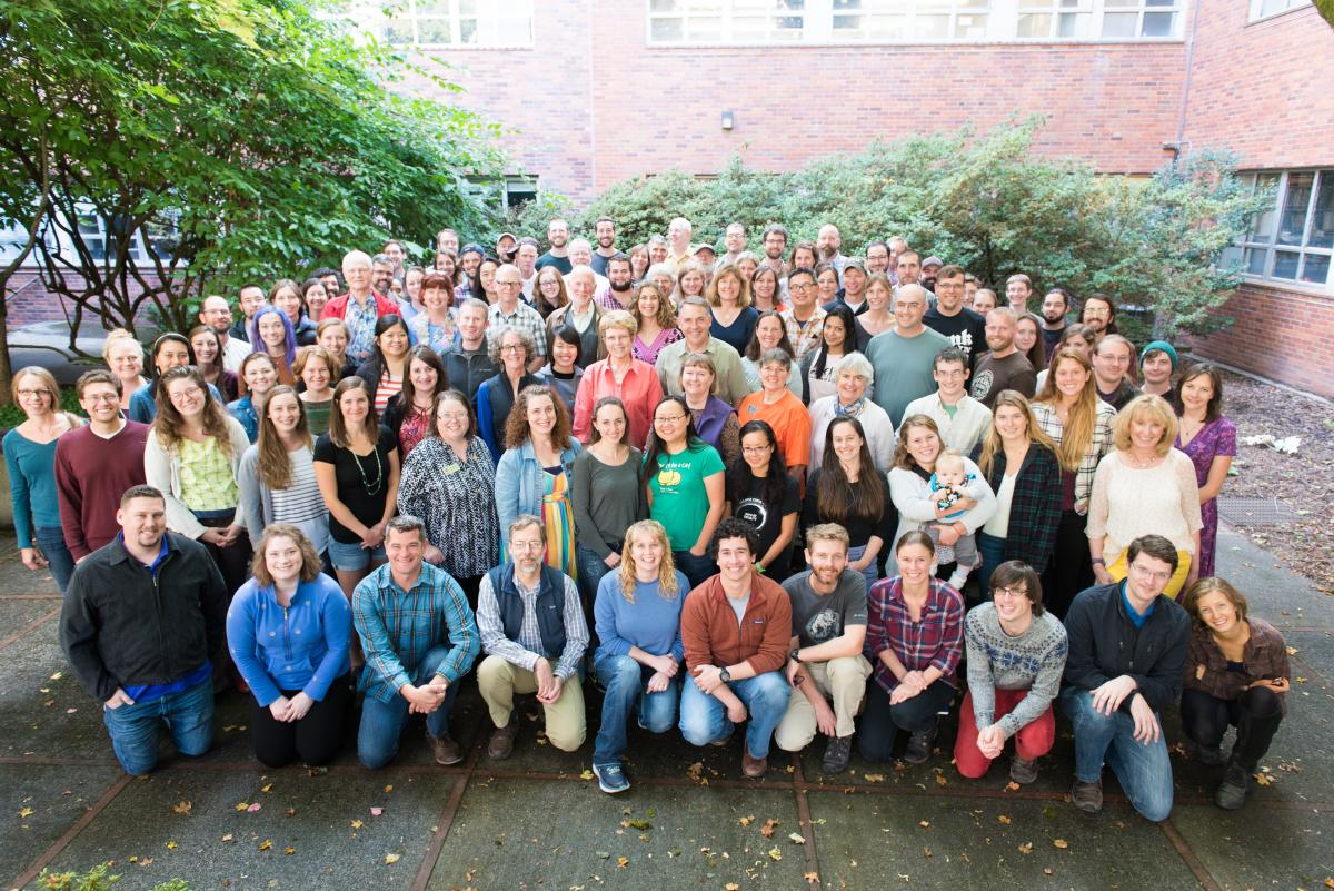 Integrative Biology group photo