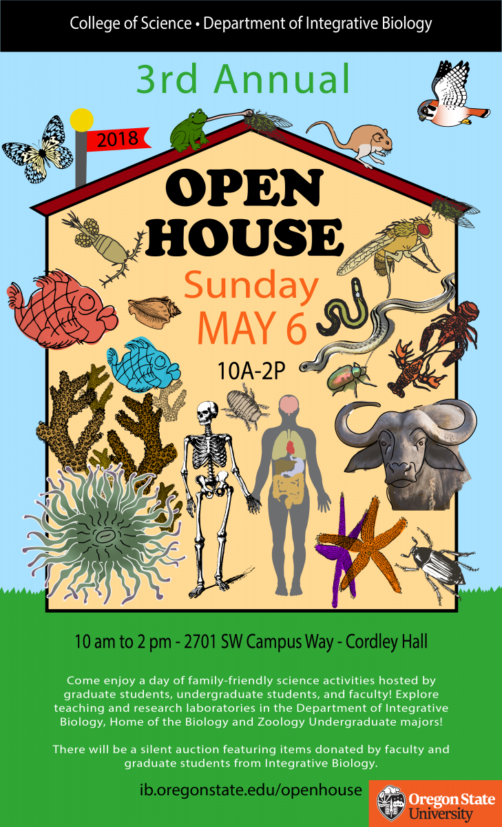 IB Open House | Department of Integrative Biology | Oregon State ...