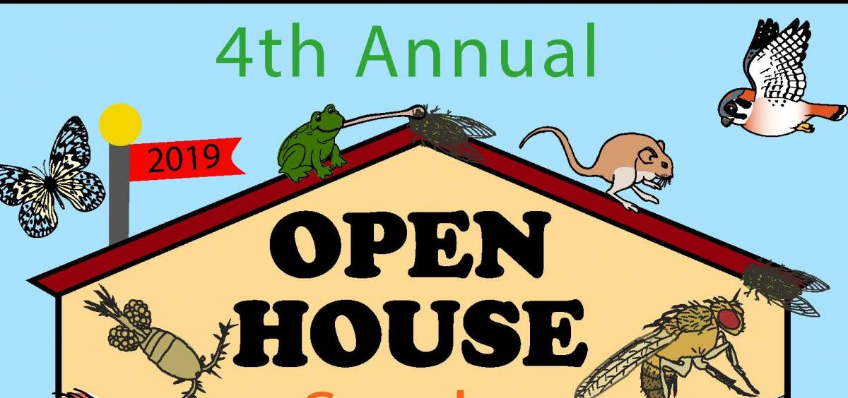 partial image of open house poster