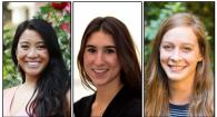 composite photo of Leah Segui, Vanessa Constant and Katie Dziedzic