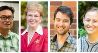 Composite photo of head shots of Francis Chan, Jane Lubchenco, Ben Dalziel and Sarah Gravem